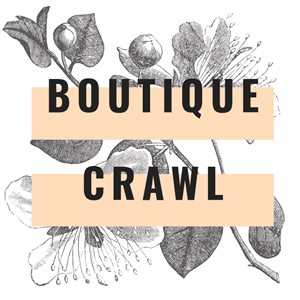 Boutique Crawl through Pinecrest Logo