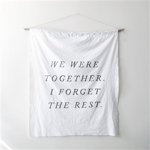 Etti Kim We Were Together I Forget the Rest Sign