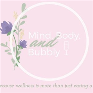 Mind, Body and Bubbly logo