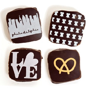 Philly Themed Chocolates by Marcie Blaine Artisinal Chocolates