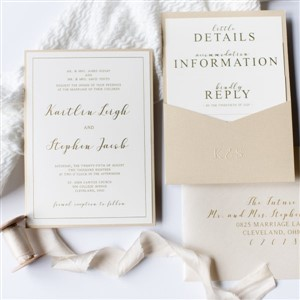 Invitation suite by Impress