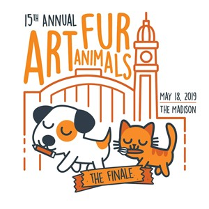 Art for Animals Cleveland Cat and Dog Cartoon Graphic