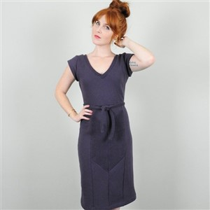 Navy Reversible Drive Dress by Coral Marie