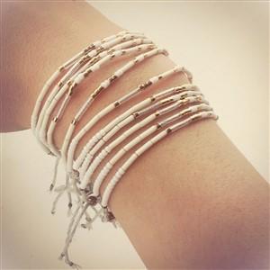 Siren Designer Morse Code Bracelets