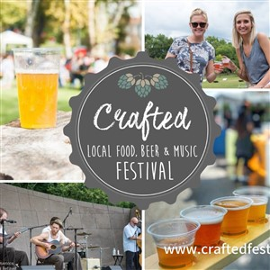 Crafted Festival Collage and Logo