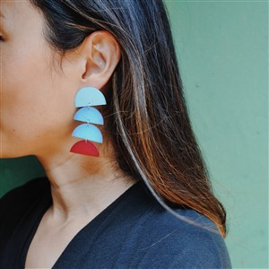 Pattern Play Glass Geometric EarringsYou Want is on the Other Side of Your Bullshit Print