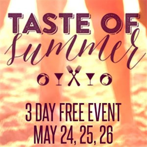 Scene Taste of Summer Flyer