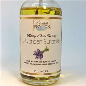Lavender Surprise Body Oil Spray