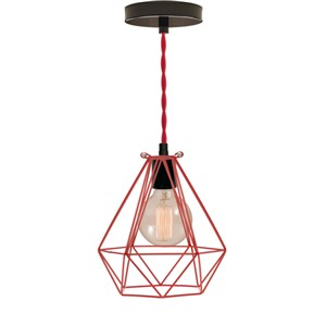 Whiskertin Geometric Light Fixture