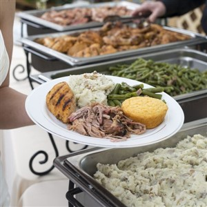 BBQ buffet by Old Carolina Barbecue
