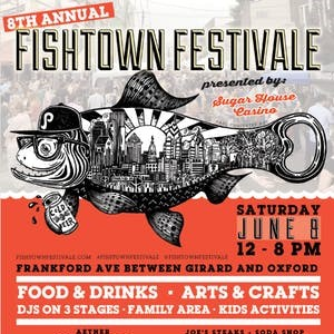 Fishtown Festivale Flyer
