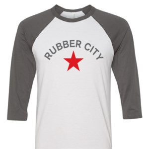 Rubber City Baseball T