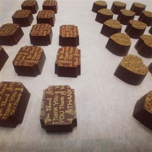 Printed Chocolates by Rose Culinaire