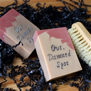 Out Damned Spot Soap by Lady MacBath