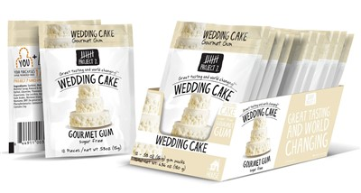 Wedding Cake Gourmet Gum by Project 7