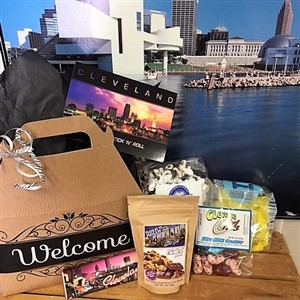 Welcome to Cleveland Hotel Welcome Box