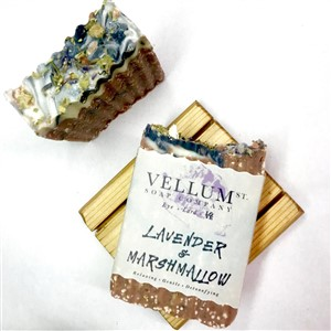 Vellum St Soap Compay Lavendar and Marshmallow