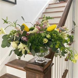 Flower Arrangement by Gather Flower Studio