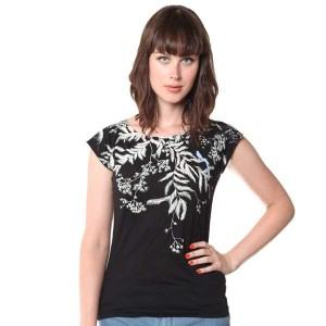 Black Vine Bamboo Shirt