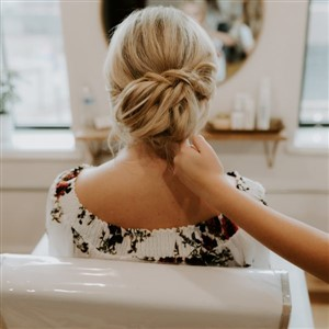 Updo by Bridal at Heyday Collective