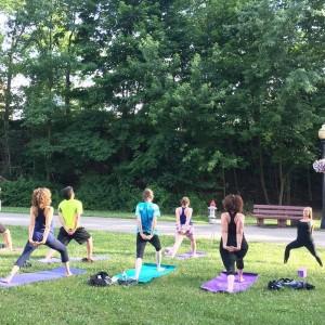 Summer Yoga at Cain Park