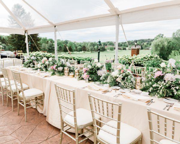 Mackenzie & Justin's Tented Garden Style Wedding