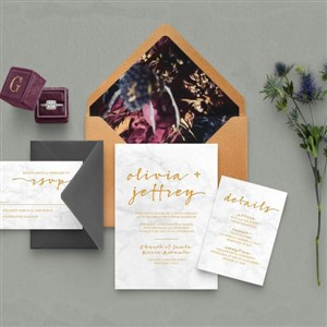 Invitation Suite by Emily Godbey Design