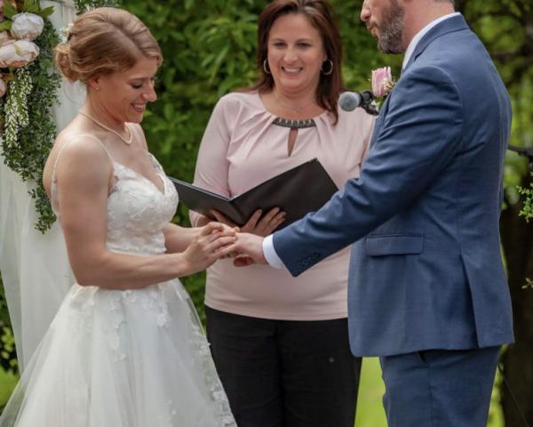 Wedding Officiated by Heidi