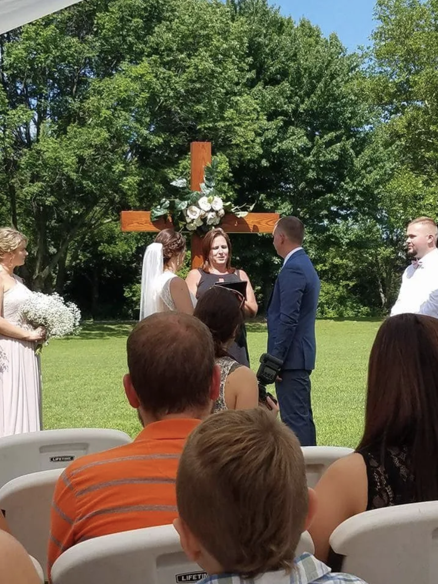 Wedding Officiated by Heidi