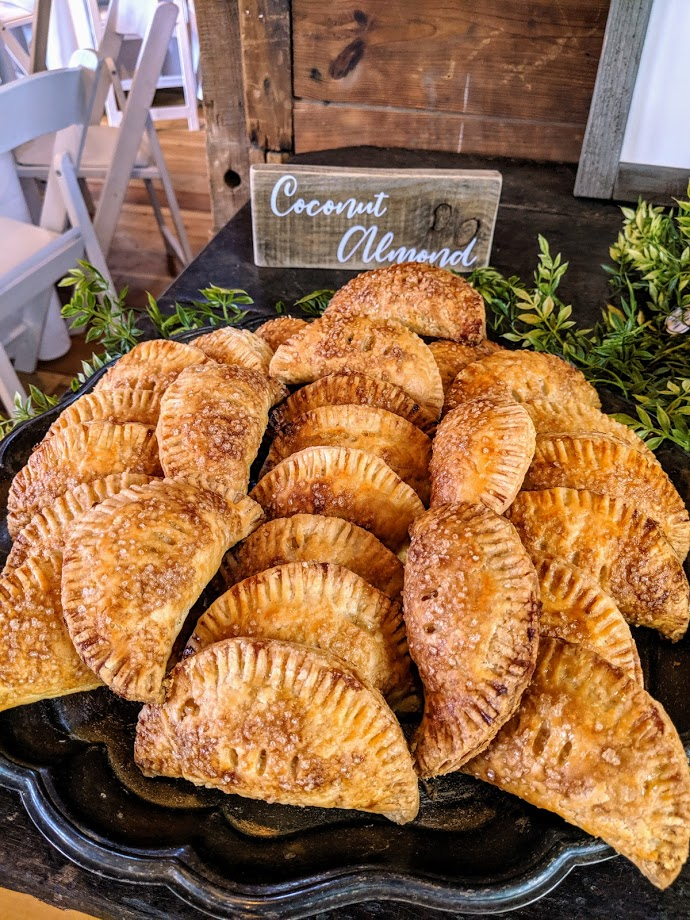 Coconut Almond mini hand pies