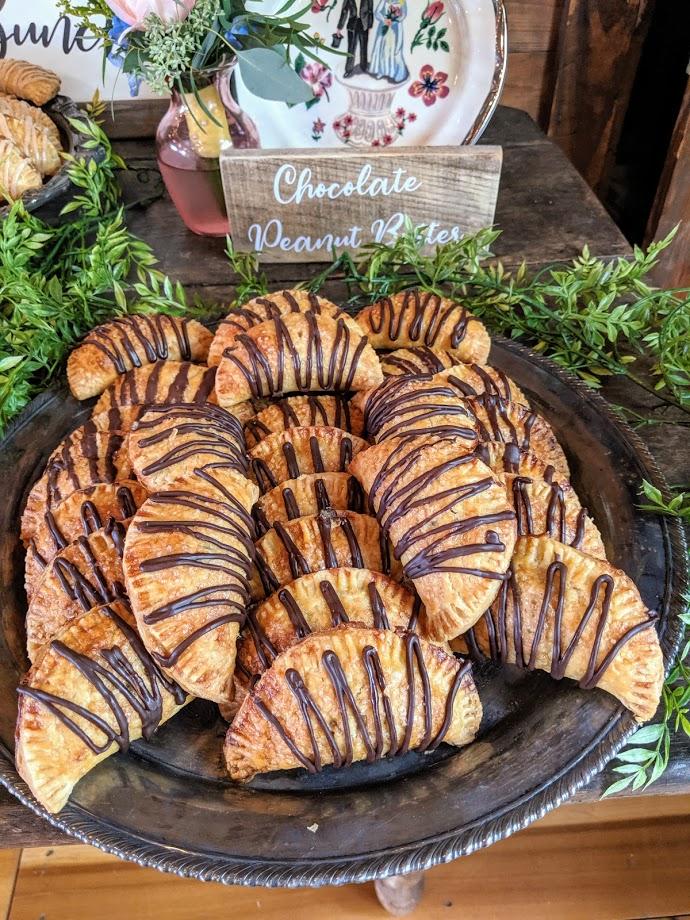 Chocolate Peanut Butter mini hand pies
