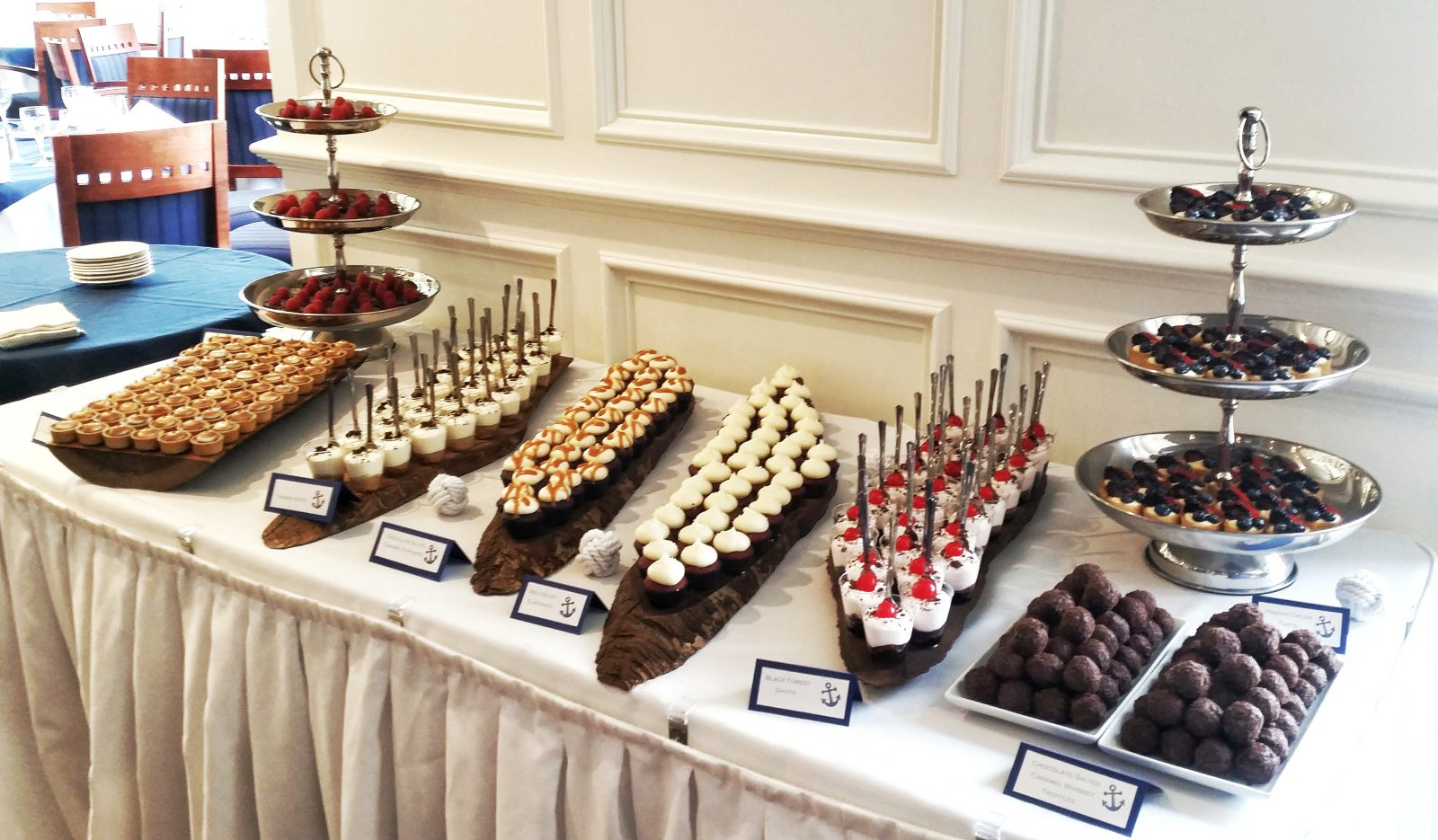 Wedding Mini Dessert Table