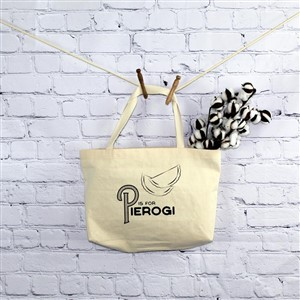 P is for Pierogi Tote Bag