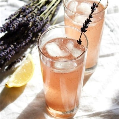 Lavender Mule Cocktail