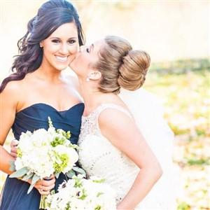 Love Beautiful Skin Bride and Bridesmaid