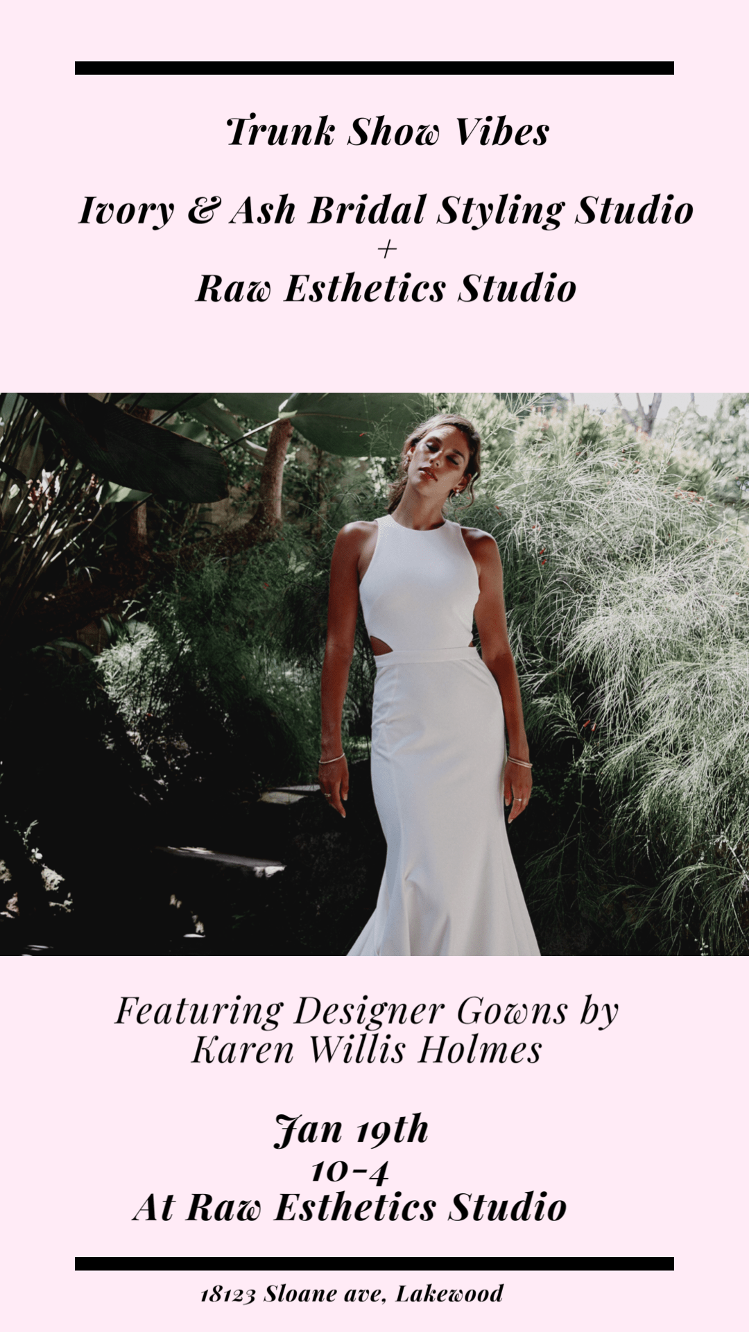 Trunk Show Featuring Designer Gowns from Karen Willis Homes